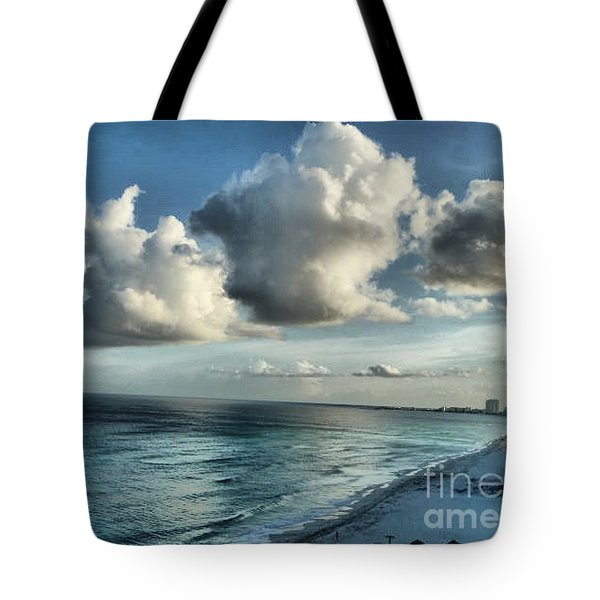 Tote Bag featuring the photograph Amazing Clouds by Polly Peacock