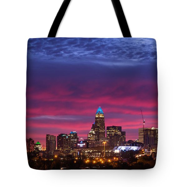 Tote Bag featuring the photograph Amazing Colors Of Charlotte by Serge Skiba