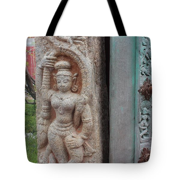 Amazing Door And Column, Fort Kochi Tote Bag