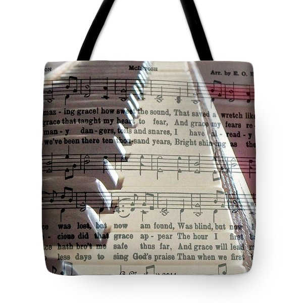 Amazing Grace Tote Bag by Betty Northcutt