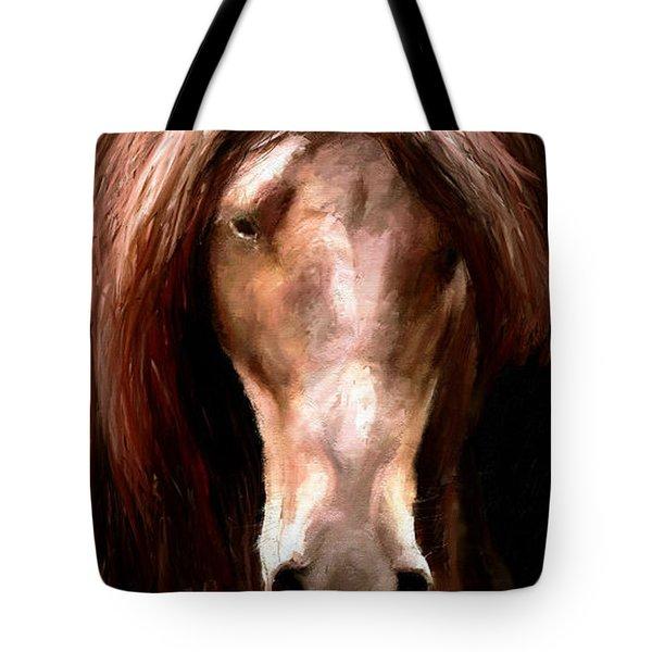 Amazing Horse Tote Bag by James Shepherd