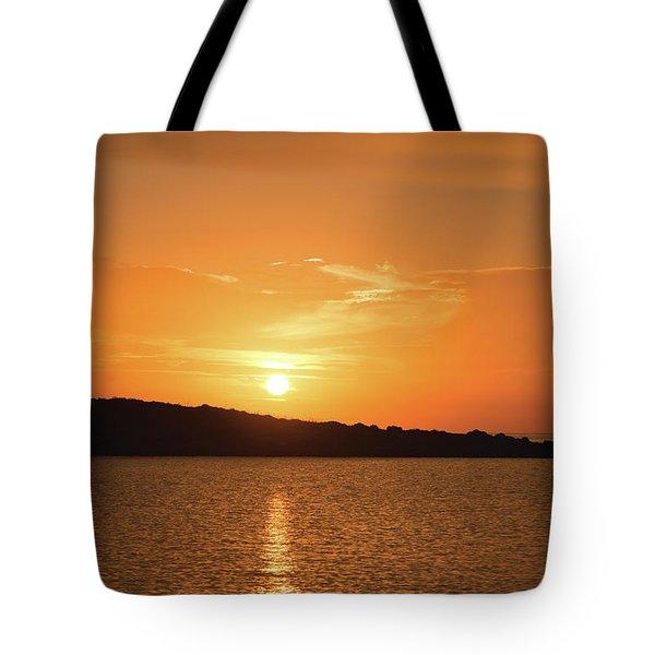 Dawn In Ibiza, Spain Tote Bag