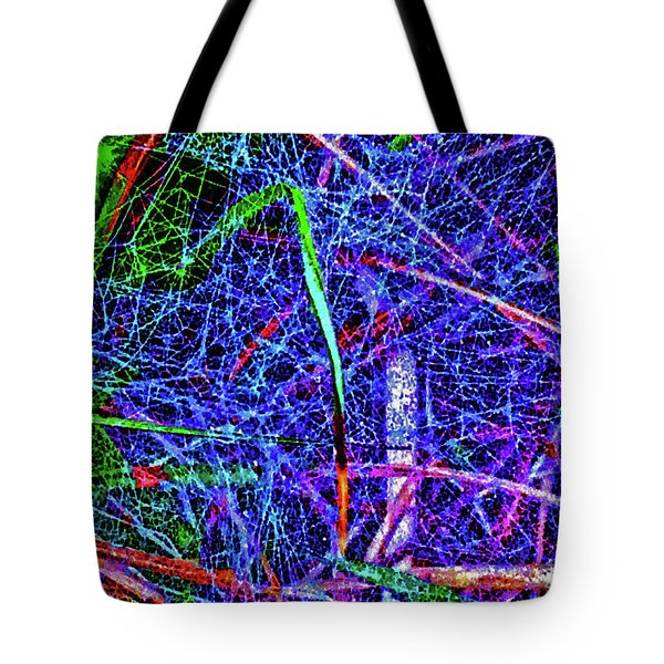 Amazing Invisible Web Tote Bag