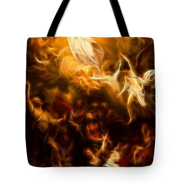 Amazing Jesus Resurrection Tote Bag by Pamela Johnson