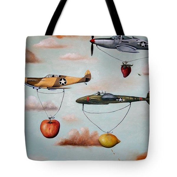 Amazing Race 2 Tote Bag by Leah Saulnier The Painting Maniac