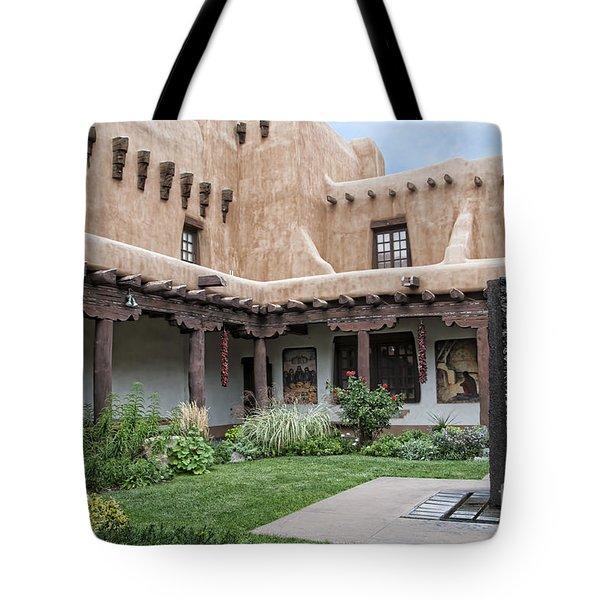 Amazing  Santa Fe Adobe  Tote Bag