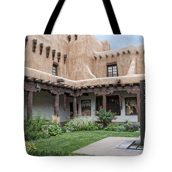 Amazing  Santa Fe Adobe  Tote Bag