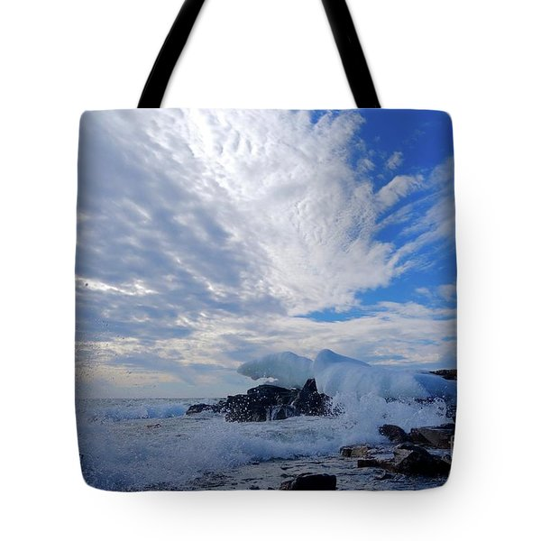 Amazing Superior Day Tote Bag by Sandra Updyke