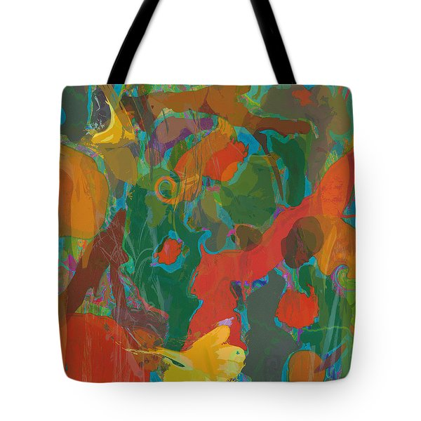 Tote Bag featuring the painting Amazon by David Klaboe