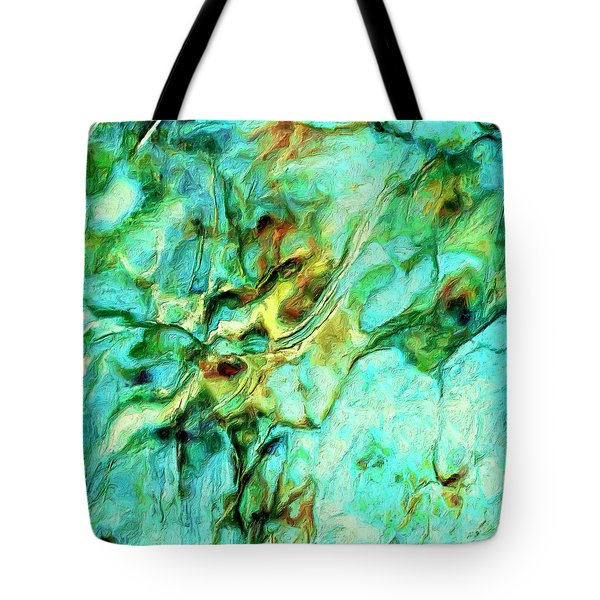 Tote Bag featuring the painting Amazon by Dominic Piperata