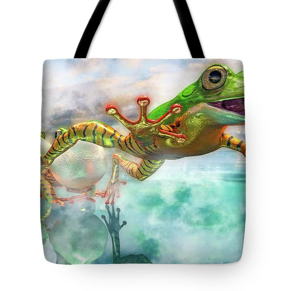 Amazon Frog Mighty Jumper Tote Bag