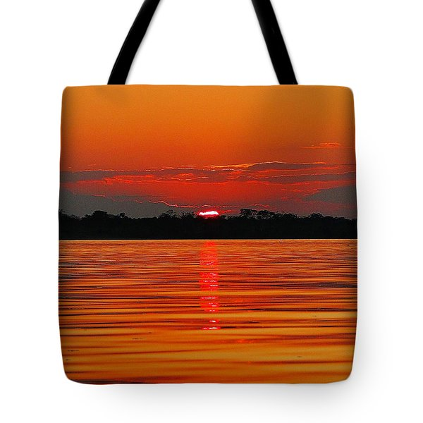 Amazon Gold Tote Bag