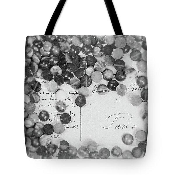 Amber #0502 Bw Tote Bag