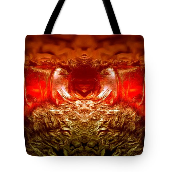 Amber Nightmare Tote Bag by Anton Kalinichev
