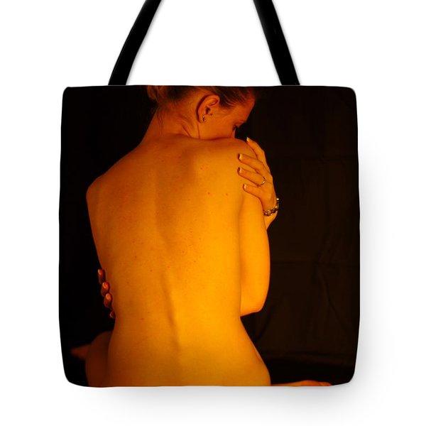 Amber Nudes 2 Tote Bag