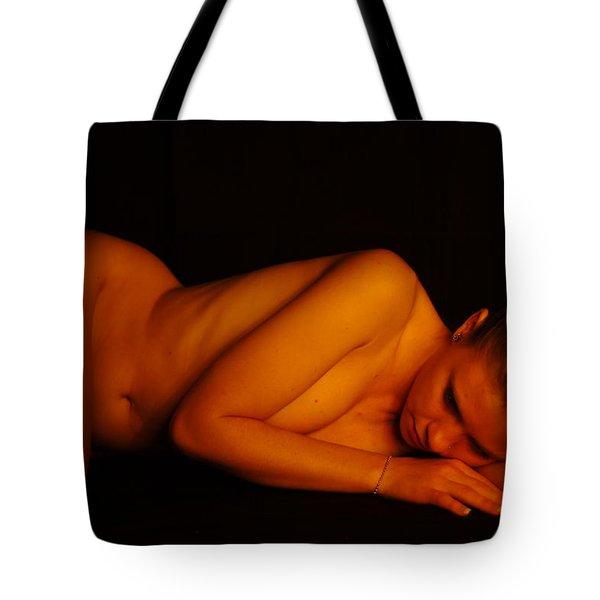 Amber Nudes 3 Tote Bag