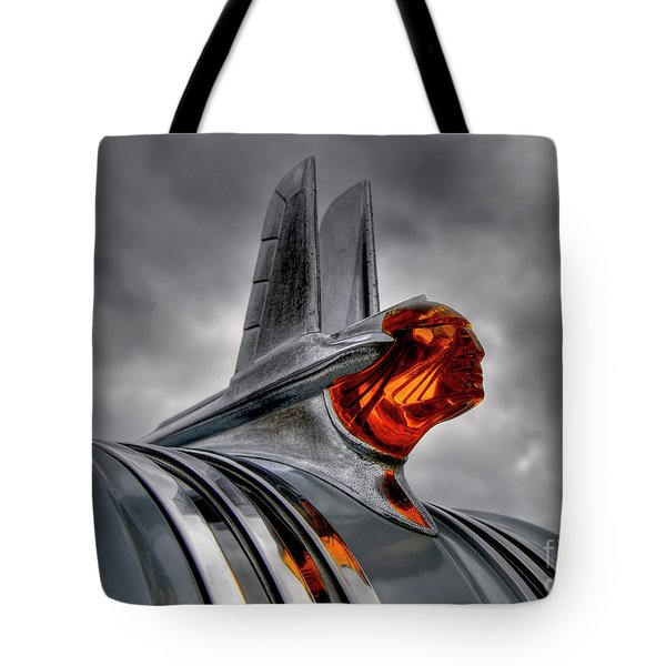 Tote Bag featuring the photograph Amber Pontiac One by Trey Foerster