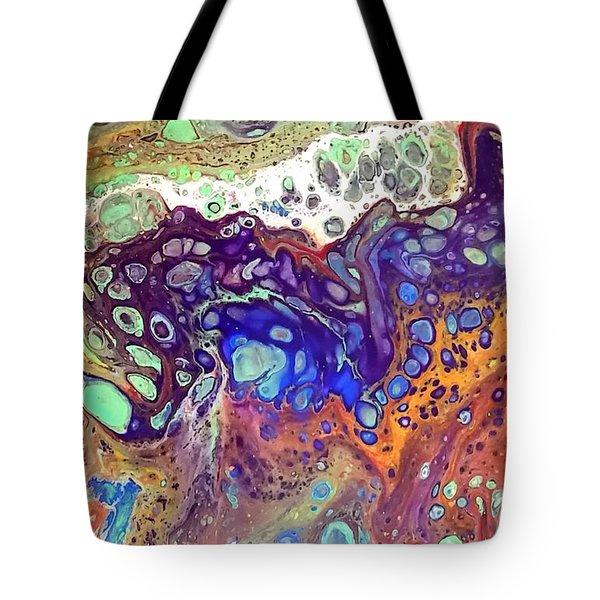 Amber Rave Tote Bag