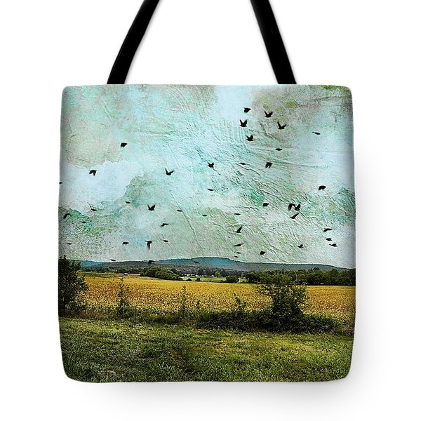 Amber Waves Of Grain Tote Bag by Jan Amiss Photography