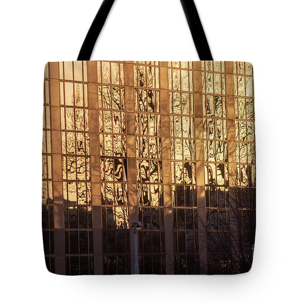Tote Bag featuring the photograph Amber Window by Ana Mireles