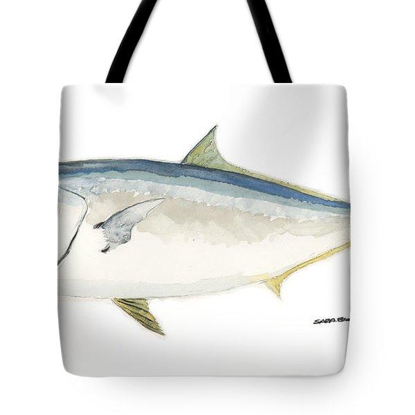 Amberjack Tote Bag