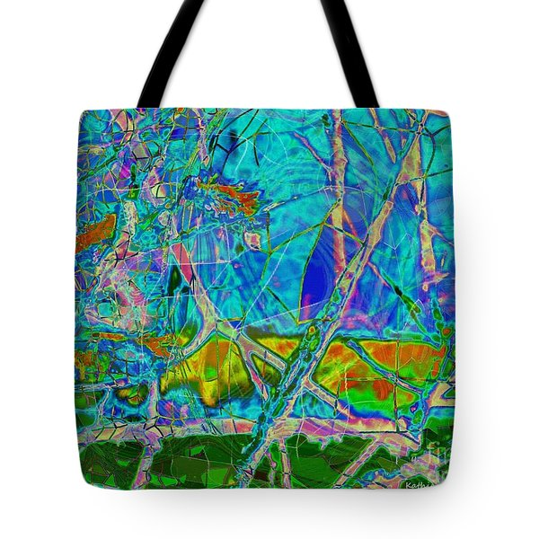 Ambient Blues Tote Bag