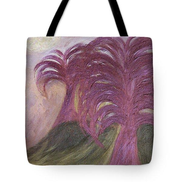 Ambient Moonlight Tote Bag by Rachel Hannah