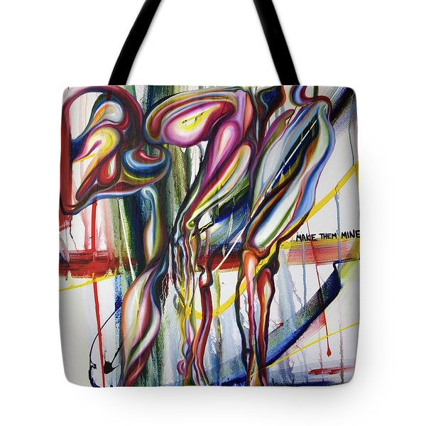 Ambigious Monster Tote Bag