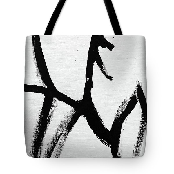 Tote Bag featuring the painting Ambit by Robin Maria Pedrero