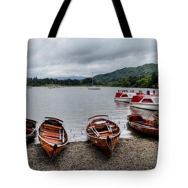 Ambleside Boats Tote Bag