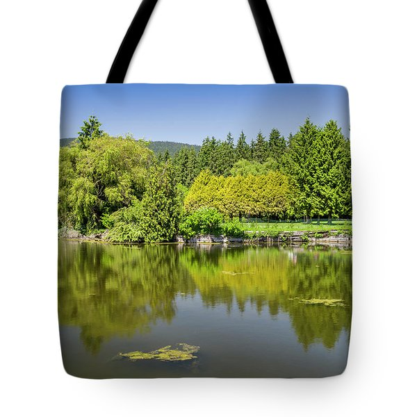 Tote Bag featuring the photograph Ambleside Park by Ross G Strachan