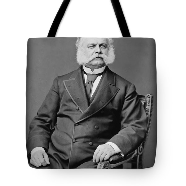 Ambrose Burnside And His Sideburns Tote Bag by War Is Hell Store