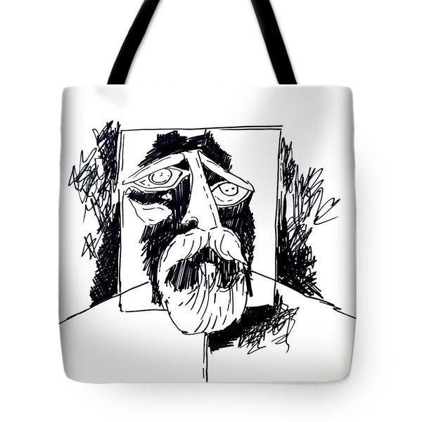 Ameeba 106- Old Man Tote Bag