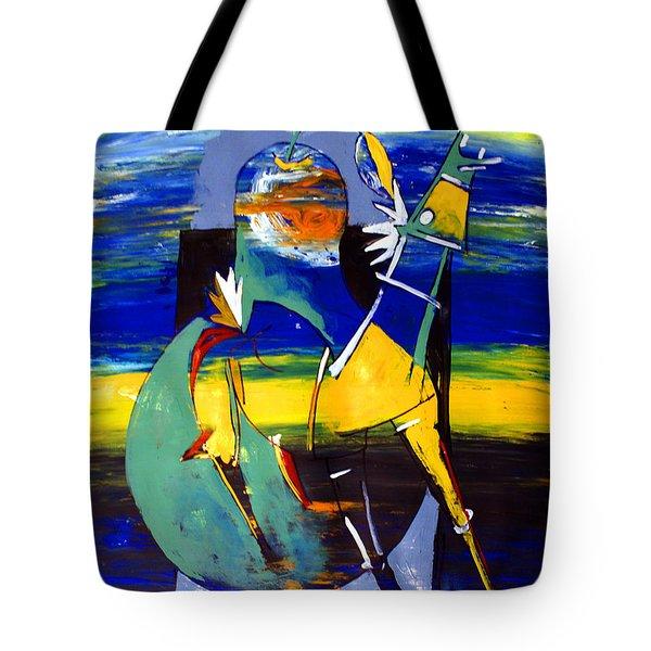 Ameeba 32- Horse And Pear Tote Bag