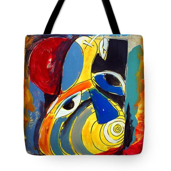 Ameeba 41- Pear Face Tote Bag