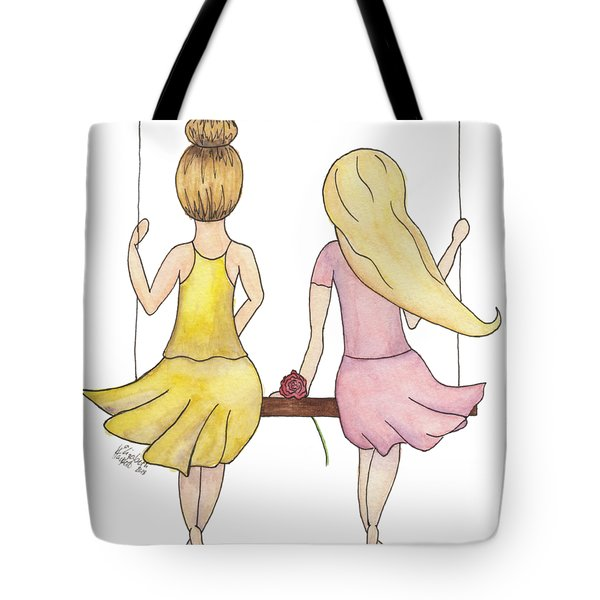 Amelia And Lillian Tote Bag