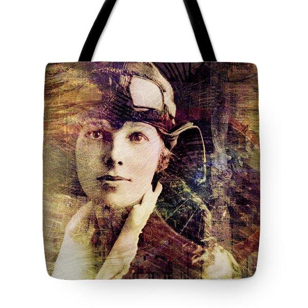 Amelia Tote Bag by Barbara Berney