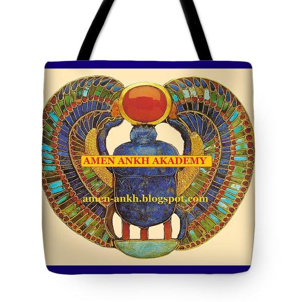 Amen Ankh Akademy Tote Bag