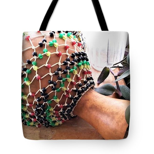 Amen Ankh Hand Made Shakere Tote Bag
