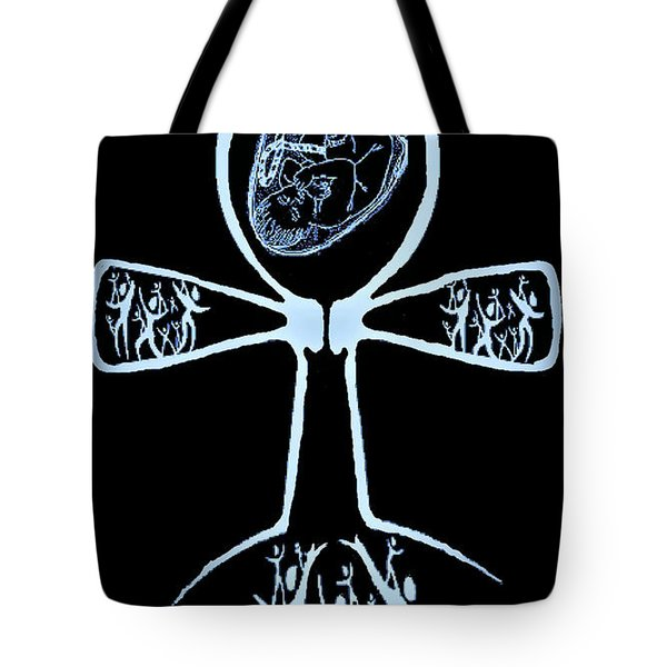Amen Ankh Indigo Tote Bag