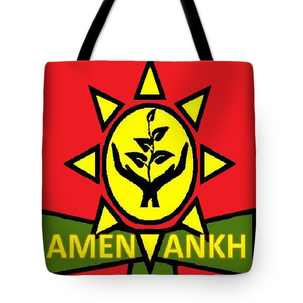 Amen Ankh Sunset Tote Bag