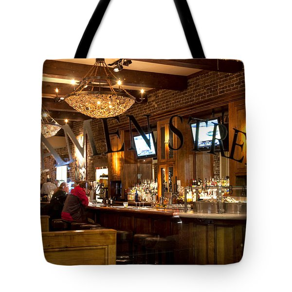 Tote Bag featuring the photograph Amen Street by Allen Carroll