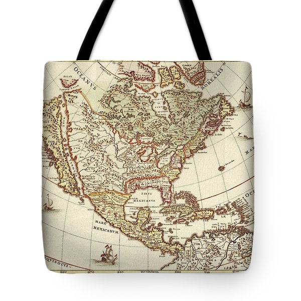 America Borealis 1699 Tote Bag