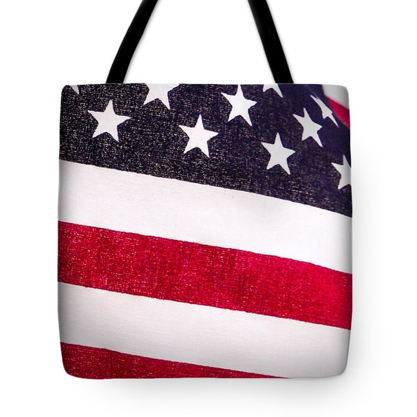 Tote Bag featuring the photograph America by Mary Timman
