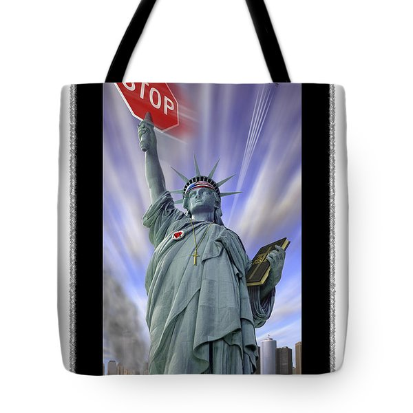 America On Alert II Tote Bag by Mike McGlothlen