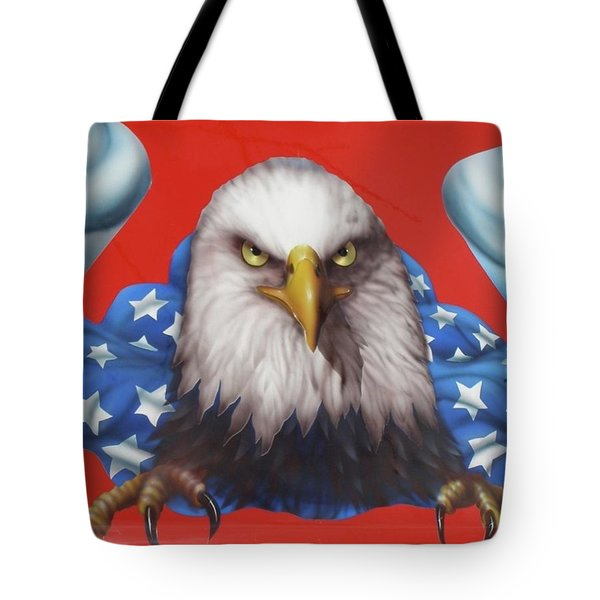 America Patriot  Tote Bag