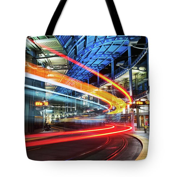 America Plaza Station Tote Bag