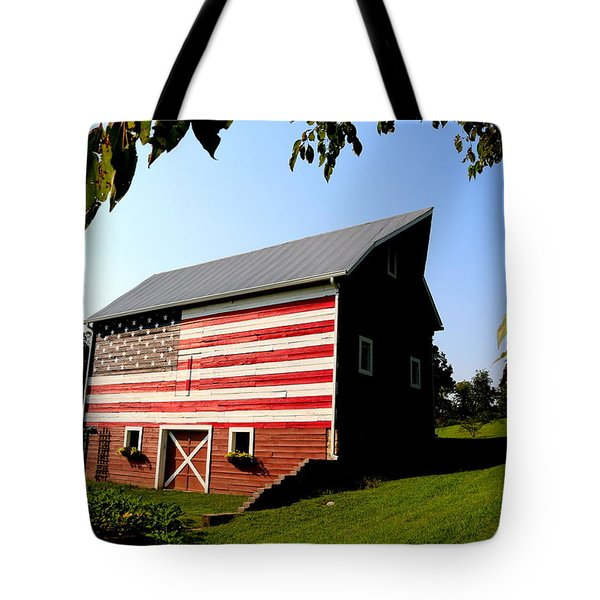 Americana 1 Desoto Kansas Tote Bag