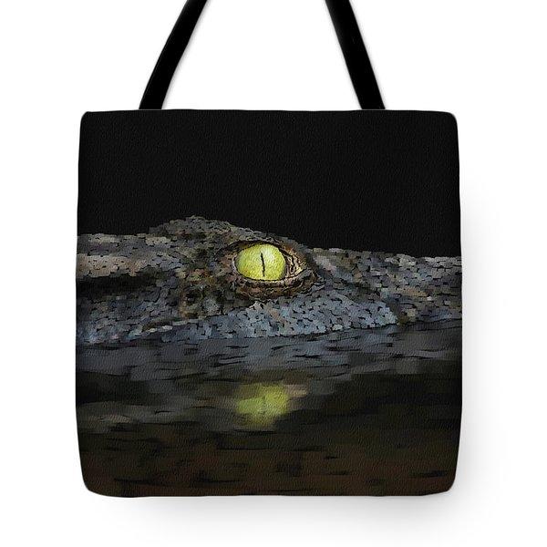 American Aligator Tote Bag