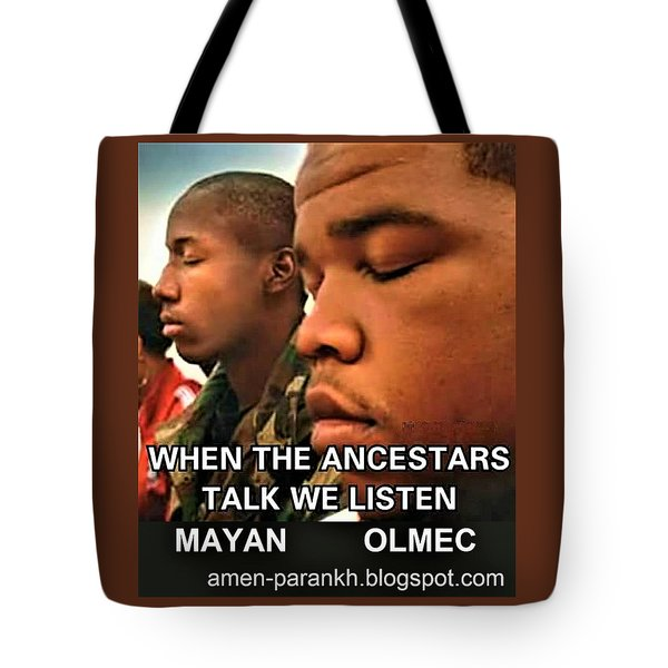 American Ancestars Tote Bag